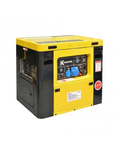 Generador Diésel 6 KVA 220V P/E Insonoro + ATS