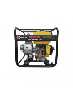 """Motobomba Diesel 3"""" Caudal Partida Manual"""